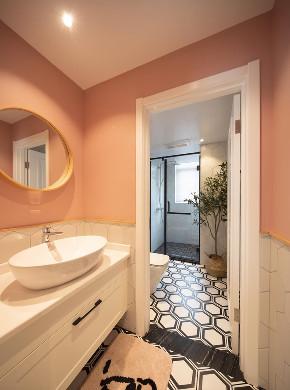 北欧 卫生间图片来自大墅尚品-由伟壮设计在140㎡铂克花园『淡淡薄荷味』的分享