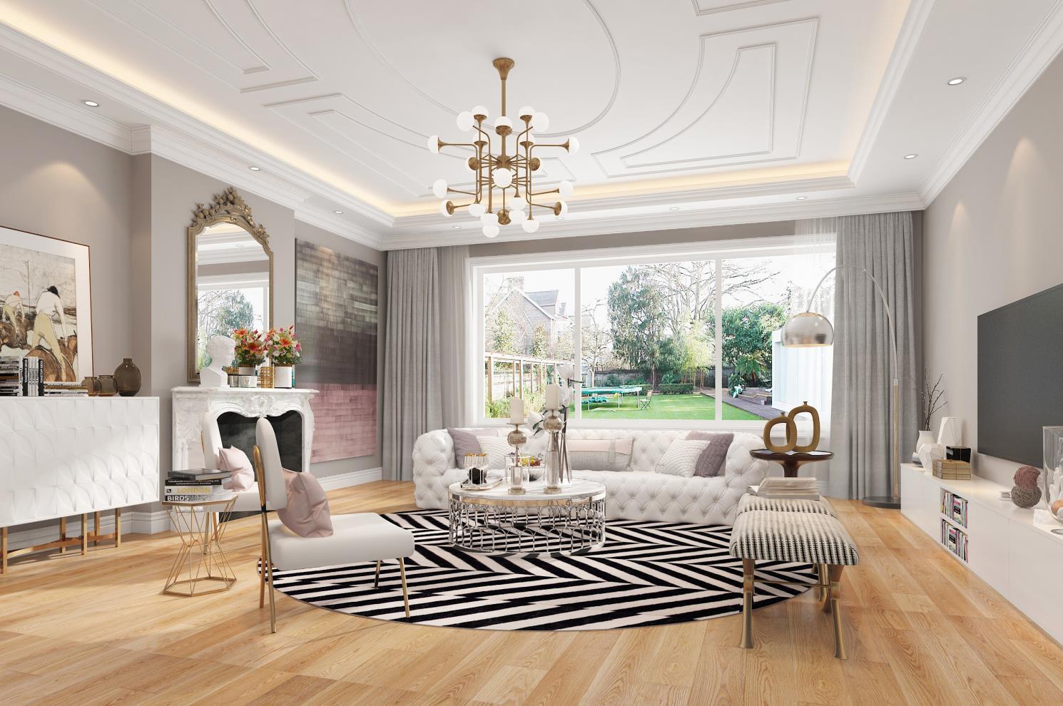 客厅图片来自申远空间设计北京分公司在北京申远空间设计-欧式风格的分享