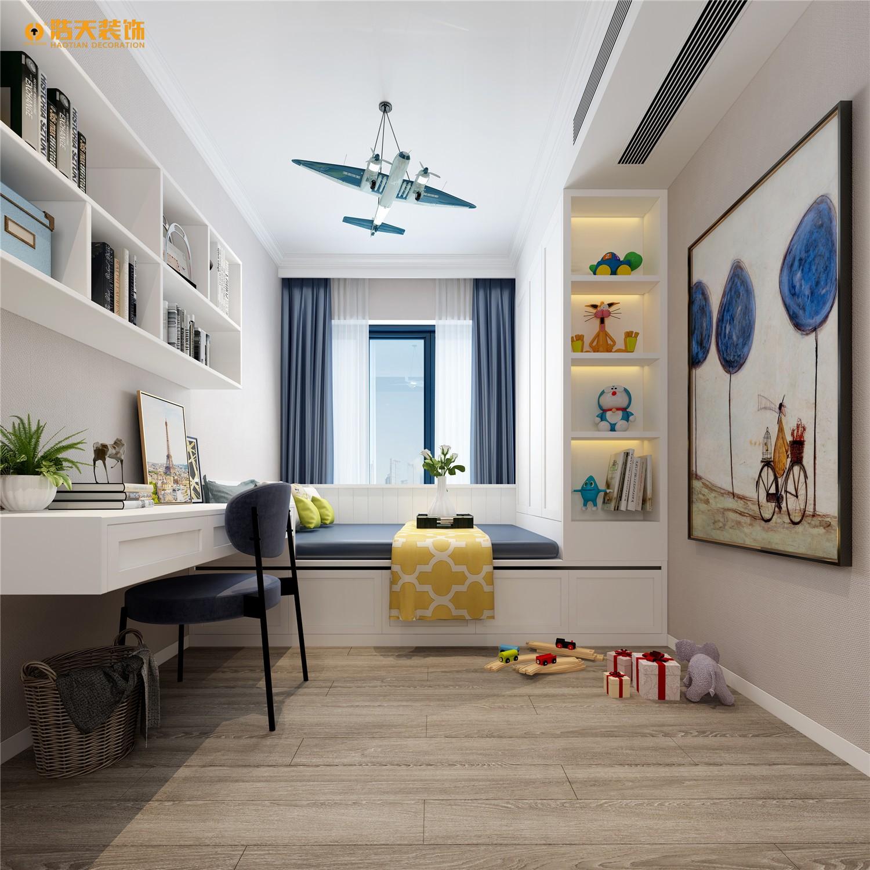 儿童房图片来自深圳浩天装饰在龙华壹城中心135平现代风格的分享