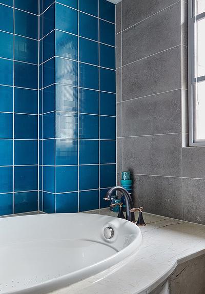 卫生间图片来自家装大管家在舒畅自然 142平美式乡村混搭3居的分享