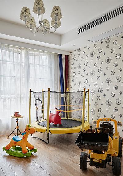 儿童房图片来自家装大管家在舒畅自然 142平美式乡村混搭3居的分享