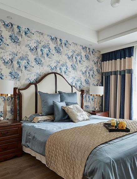卧室图片来自家装大管家在舒畅自然 142平美式乡村混搭3居的分享