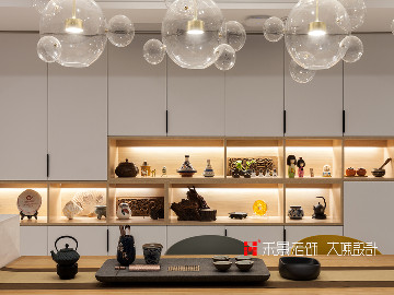 耳目一新的艺术空间—天井茶室