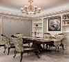 在软装的搭配上,带有图案的壁纸、带有帷幔的窗帘、华丽的地毯、古典的装饰画和精心布置的艺品,都增加了我们空间的浪漫情调。