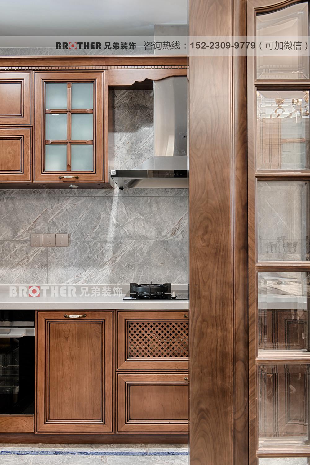 欧式 简约 洋房 客厅 小资 兄弟装饰 公园王府 厨房图片来自兄弟装饰-蒋林明在金科公园王府设计|洋房装修公司的分享