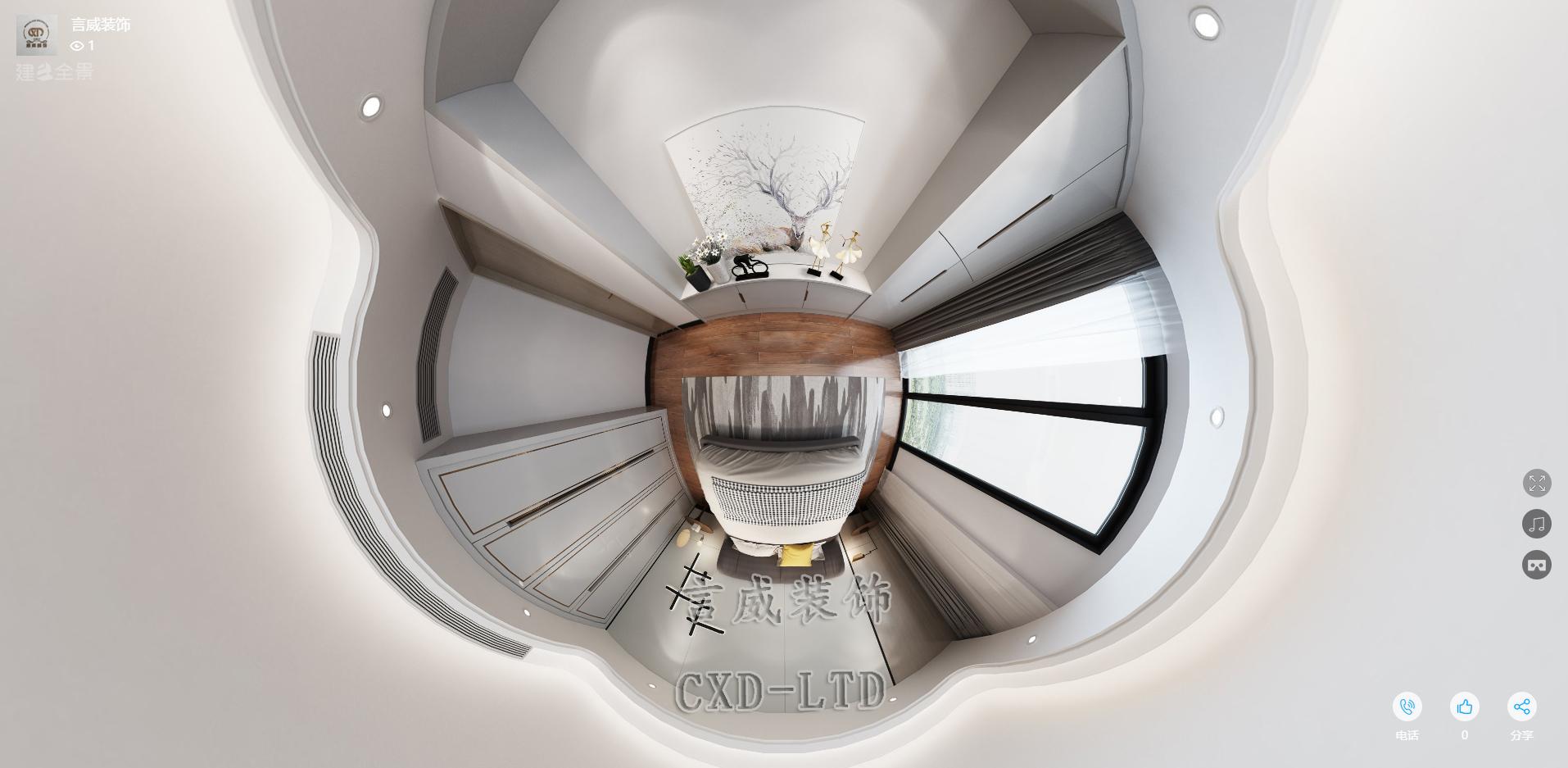 三居 卧室 客厅 装修 装饰 设计 旧房改造 言威装饰图片来自深圳市言威装饰设计有限公司在【言威装饰作品】新桥景城花园、的分享