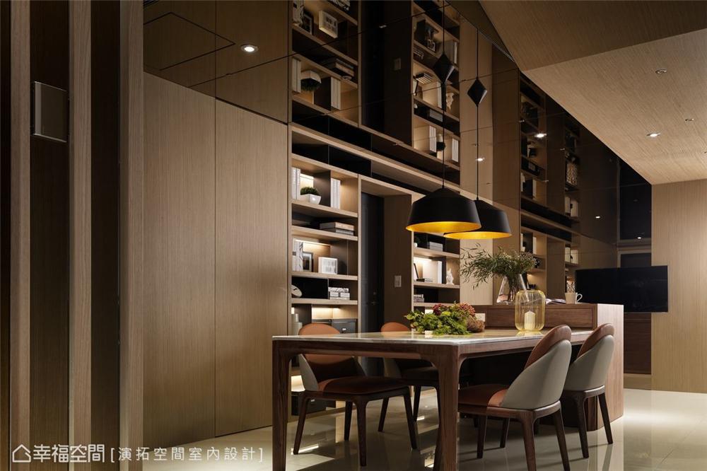 装修设计 装修完成 现代风格 餐厅图片来自幸福空间在281平,双拼空间  退休共乐住宅的分享