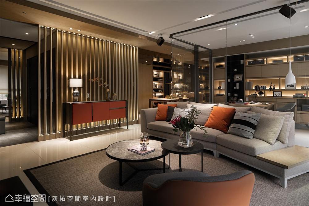 装修设计 装修完成 现代风格 客厅图片来自幸福空间在281平,双拼空间  退休共乐住宅的分享