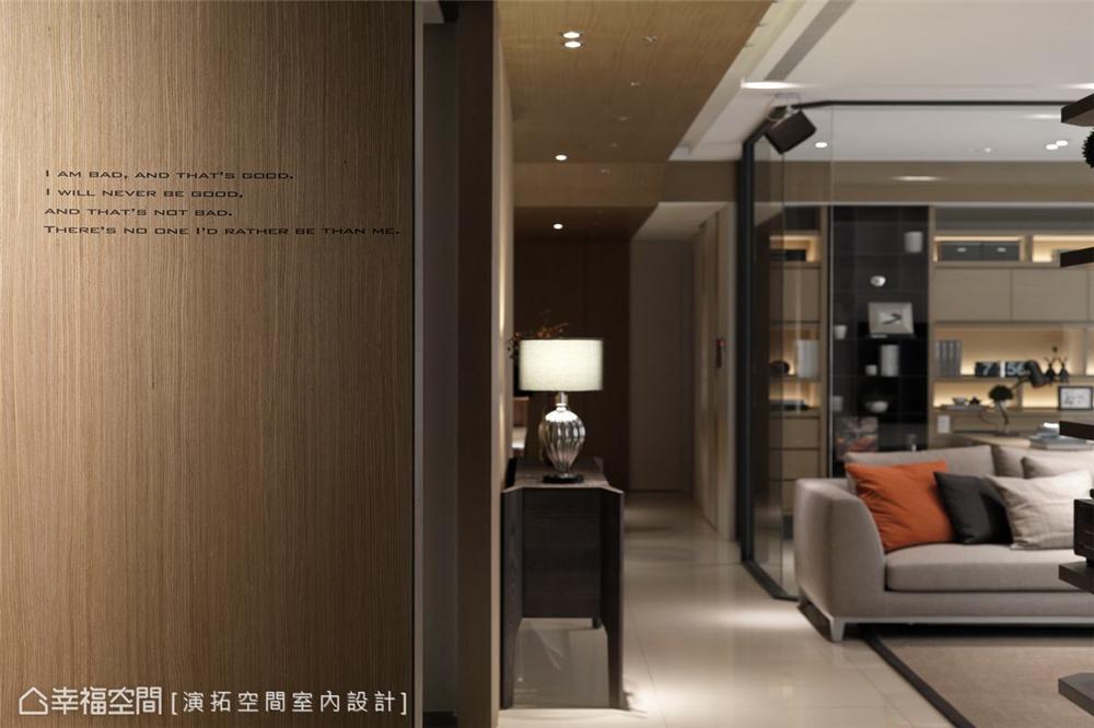装修设计 装修完成 现代风格 玄关图片来自幸福空间在281平,双拼空间  退休共乐住宅的分享