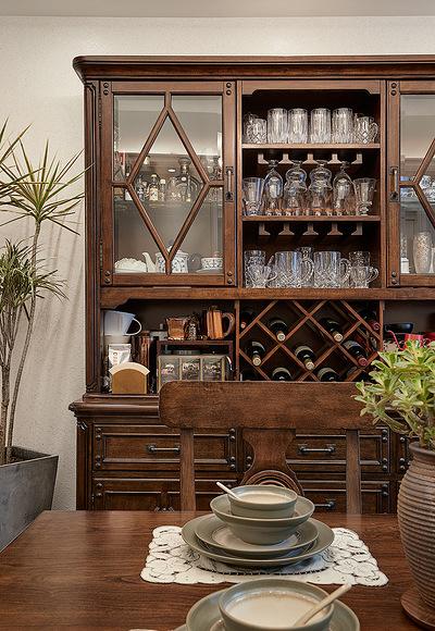 餐厅图片来自家装大管家在美观实用 130平美式田园混搭3居的分享