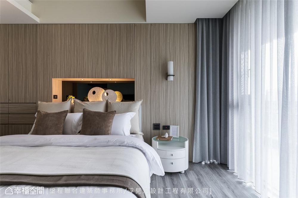 装修设计 装修完成 现代风格 卧室图片来自幸福空间在205平,沉砌-砌筑生活的态度的分享
