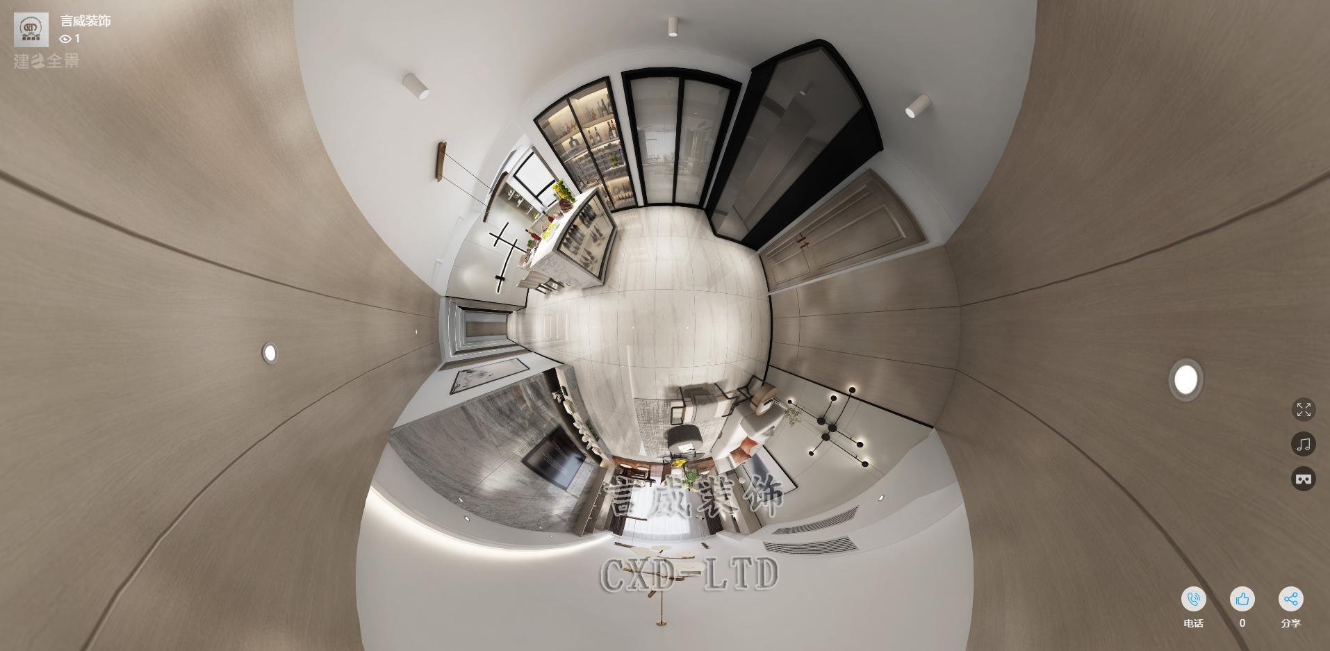 现代 简约 改造 白领 80后 小资 客厅图片来自深圳市言威装饰设计有限公司在【言威装饰作品】新桥景城花园的分享