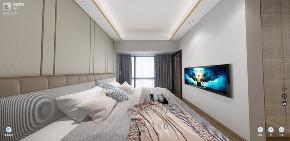 现代 白领 旧房改造 80后 小资 装修 设计 卧室图片来自深圳市言威装饰设计有限公司在【言威装饰作品】前海时代QCC的分享