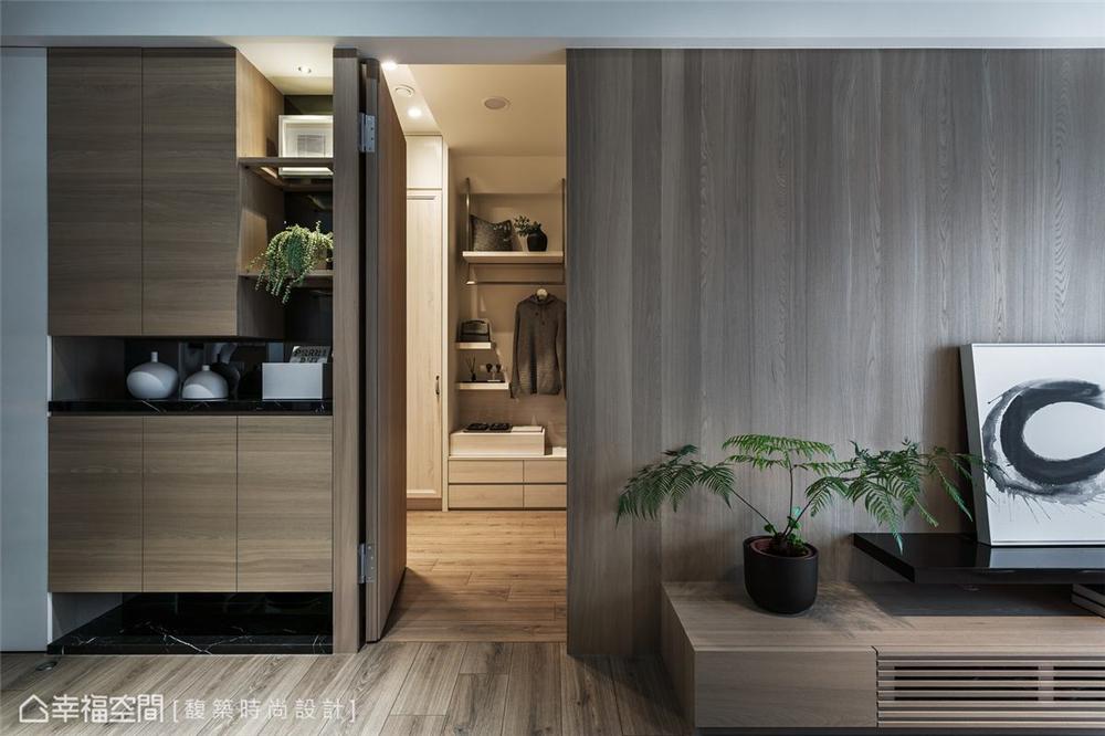 装修设计 装修完成 现代风格 休闲多元 卧室图片来自幸福空间在79平,简约通透,自然系木质好宅的分享