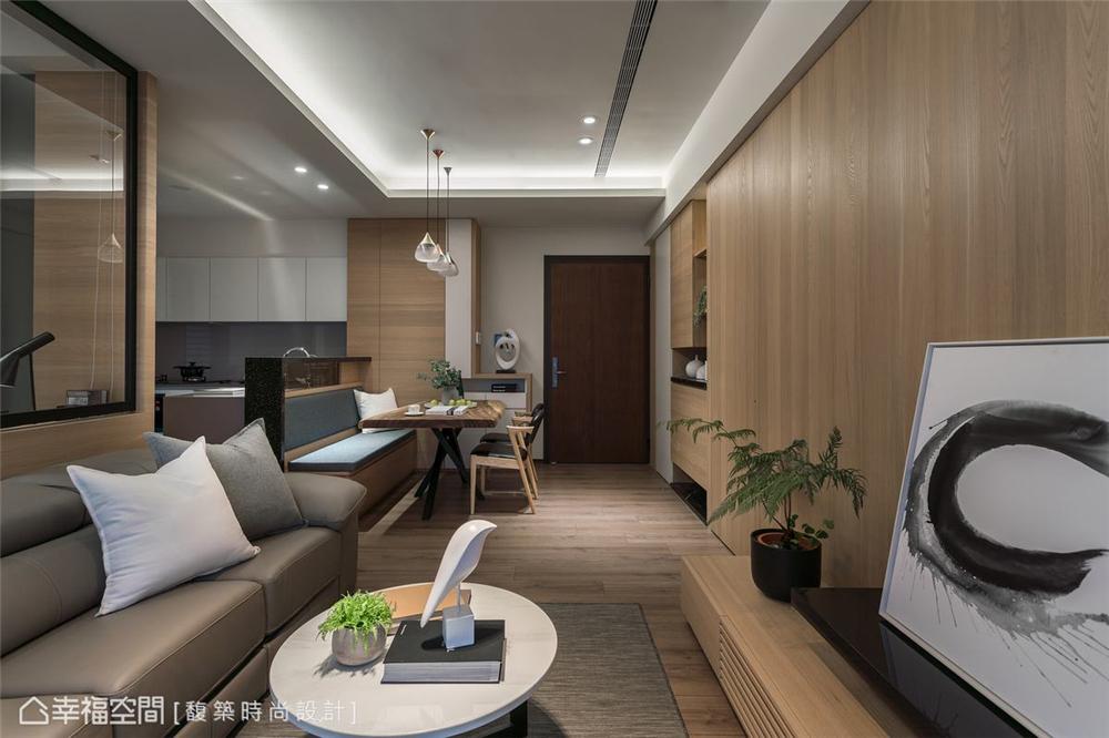 装修设计 装修完成 现代风格 休闲多元 其他图片来自幸福空间在79平,简约通透,自然系木质好宅的分享