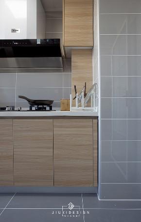 二居 白领 收纳 80后 简约 小资 黑科技 厨房图片来自久栖设计在【久栖设计】北京旗胜家园丨流年的分享