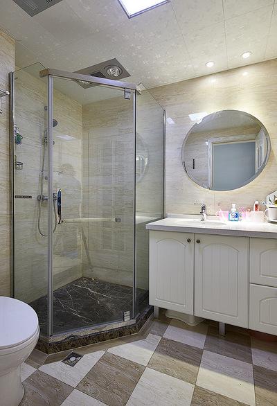 卫生间图片来自家装大管家在149平美式温馨3居 随性舒适生活的分享