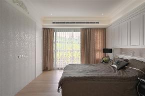 装修设计 装修完成 新古典 卧室图片来自幸福空间在281平,轻奢感新古典别墅的分享