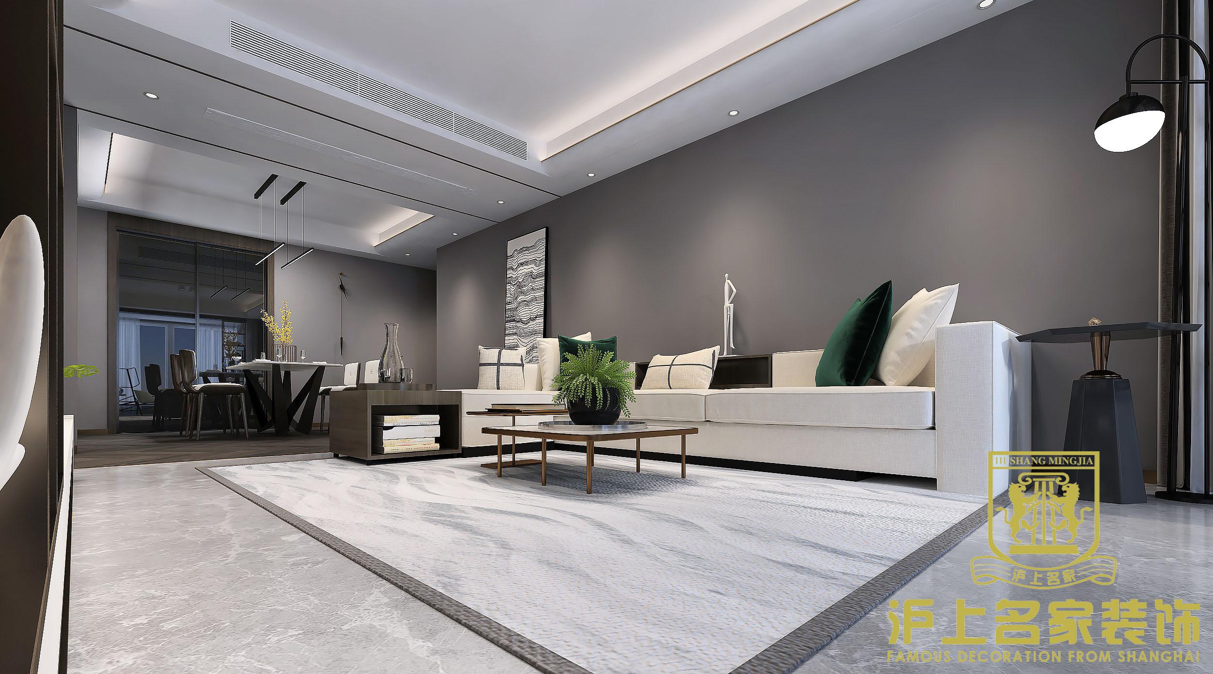 简约 四室 客厅2 客厅图片来自河南沪上名家装饰在金科城138平现代简约风格效果图的分享