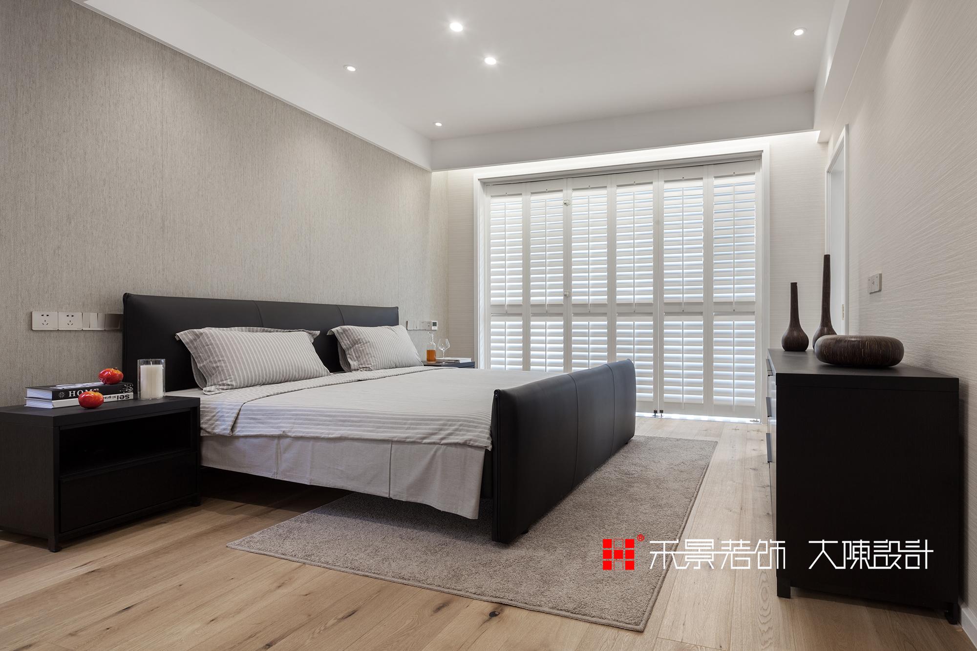 别墅 小资 卧室图片来自禾景大陈设计在禾景作品丨适度设计,顺势而为的分享