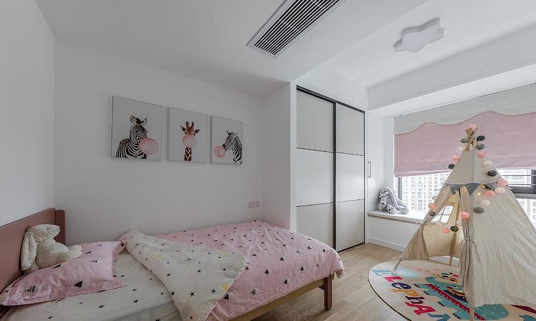 儿童房图片来自家装大管家在145平现代舒适3居 低调奢华世界的分享