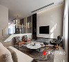 客厅是家待客、会友的较公共场所,也是家人欢聚,共享生活情趣的空间,客厅的设计充分融入了时尚、温馨、典雅的设计因子,别致的挂画起到了画龙点晴的作用,宽大的落地窗更彰显了大户人家的气质和风范。