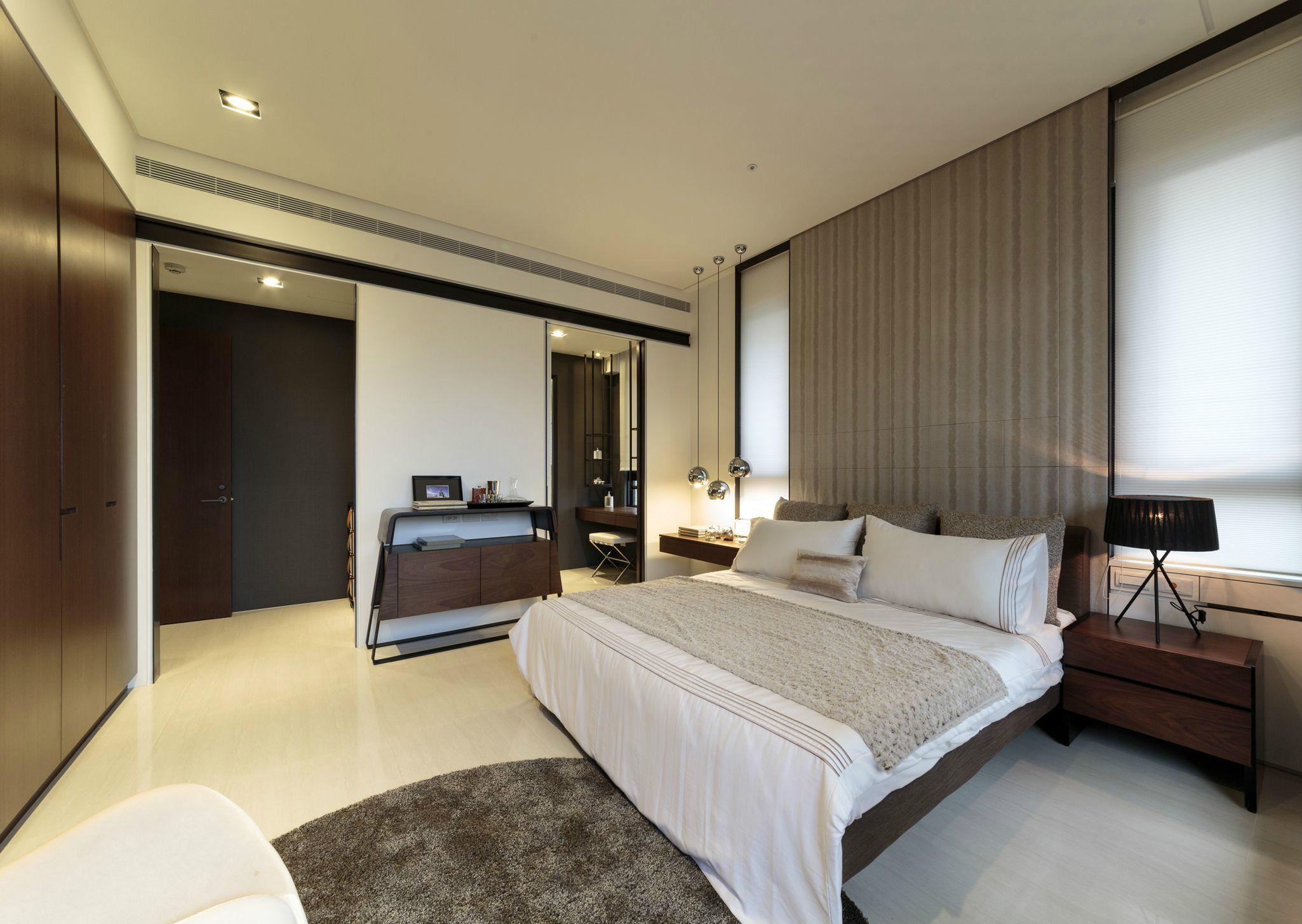 卧室图片来自北京今朝装饰在敞开式风格舒适大方的分享