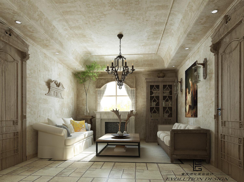 简约 田园 混搭 别墅图片来自进化美业空间设计在美式风格设计 东桥郡别墅设计的分享
