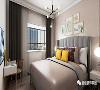 卧室空间不需要太大,美观实用,舒适慵懒,再配上一个规整实用的衣橱,光是看着就觉得很美好了。