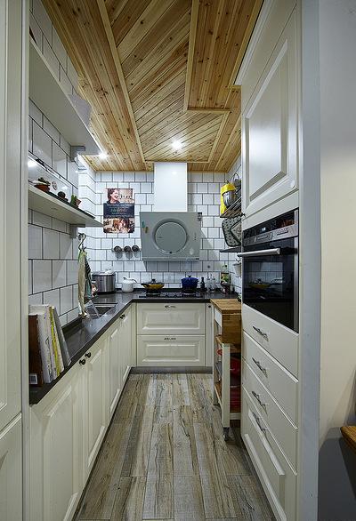 厨房图片来自家装大管家在89平情调北欧风居 沉稳又不张扬的分享