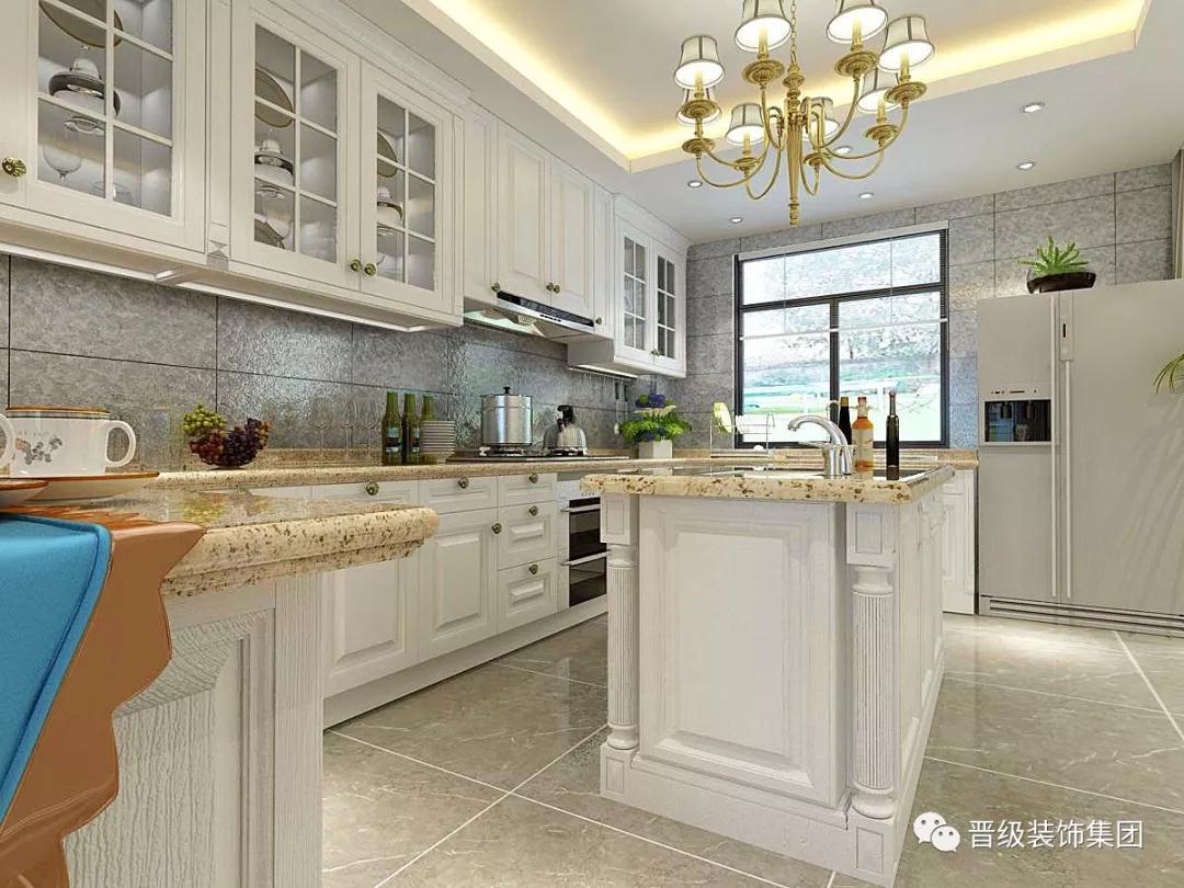 美式古典 厨房图片来自晋级装饰潘露在晋级装饰-郡原城中墅的分享