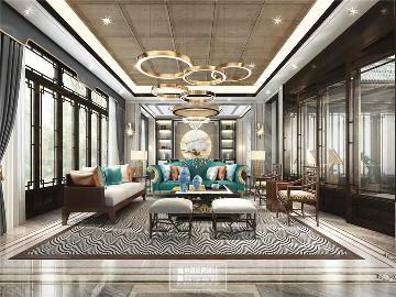 北京申远空间设计-大宅中式设计