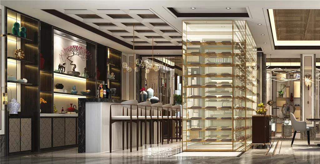 北京申远 申远 别墅装修 餐厅图片来自申远空间设计北京分公司在北京申远空间设计-大宅中式设计的分享