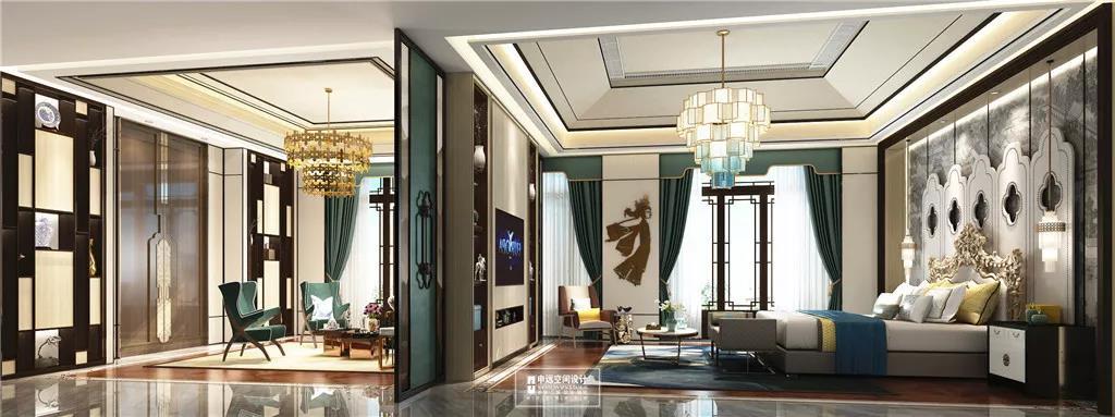 北京申远 申远 别墅装修 卧室图片来自申远空间设计北京分公司在北京申远空间设计-大宅中式设计的分享