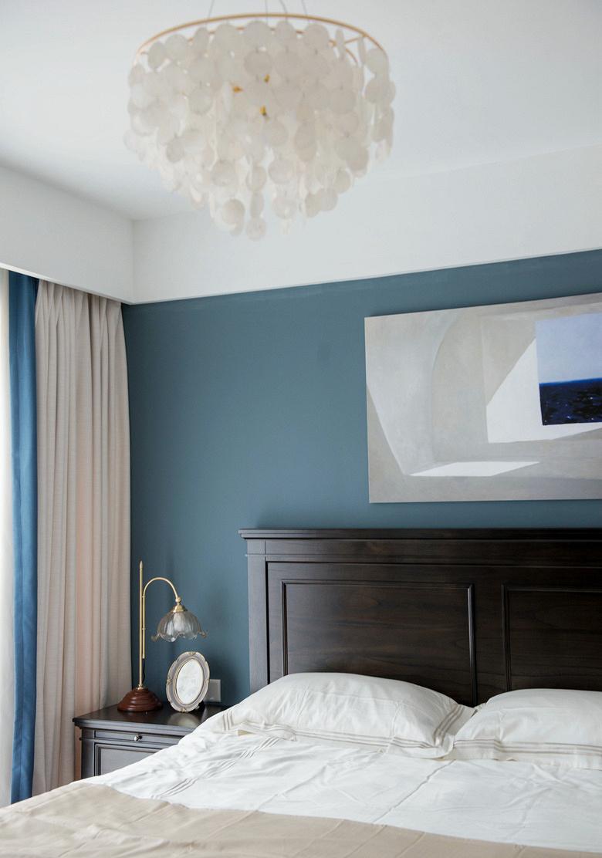 卧室图片来自家装大管家在135平北欧混搭3居 文艺优雅并存的分享