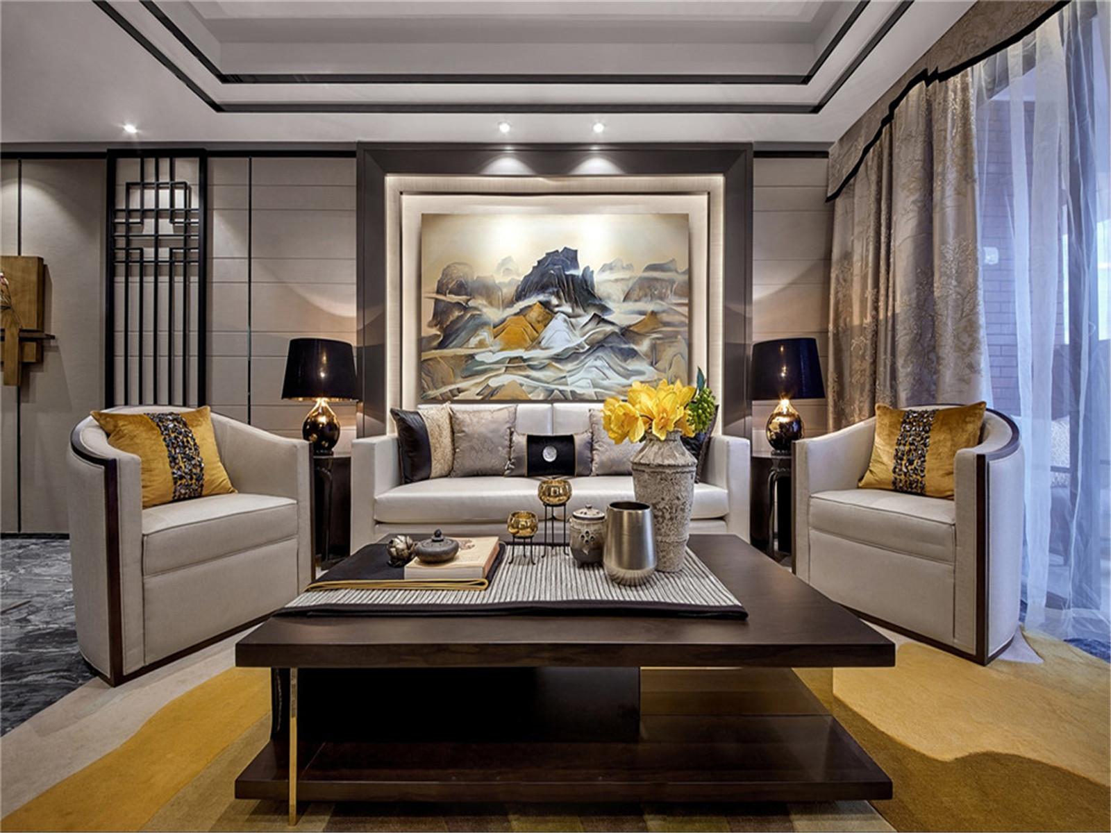 三居 旧房改造 小资 中式 老房 80后 客厅图片来自北京今朝装饰在传统中式三居室的分享