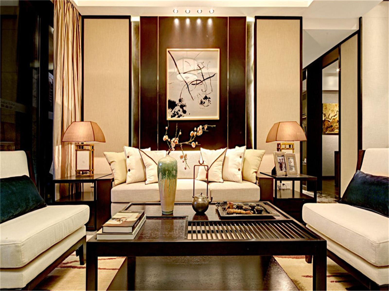 中式 三居 收纳 旧房改造 80后 小资 客厅图片来自北京今朝装饰在中式三居室的分享