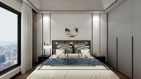 三居 中式 卧室 卧室图片来自重庆东易日盛装饰在书香溪墅新中式设计的分享
