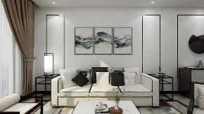 三居 客厅 中式 客厅图片来自重庆东易日盛装饰在书香溪墅新中式设计的分享
