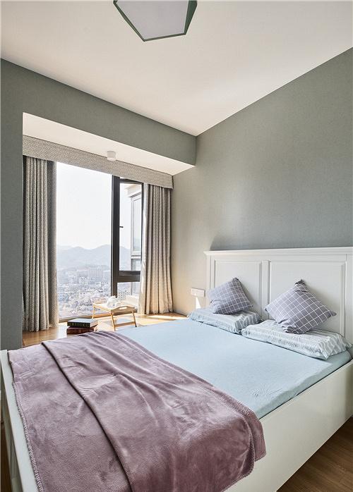 卧室图片来自家装大管家在91平北欧舒适居 简洁大方又耐看的分享
