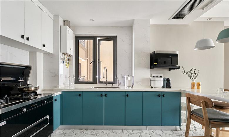 厨房图片来自家装大管家在91平北欧舒适居 简洁大方又耐看的分享