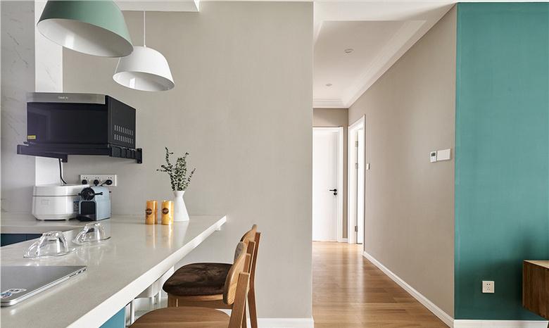 餐厅图片来自家装大管家在91平北欧舒适居 简洁大方又耐看的分享