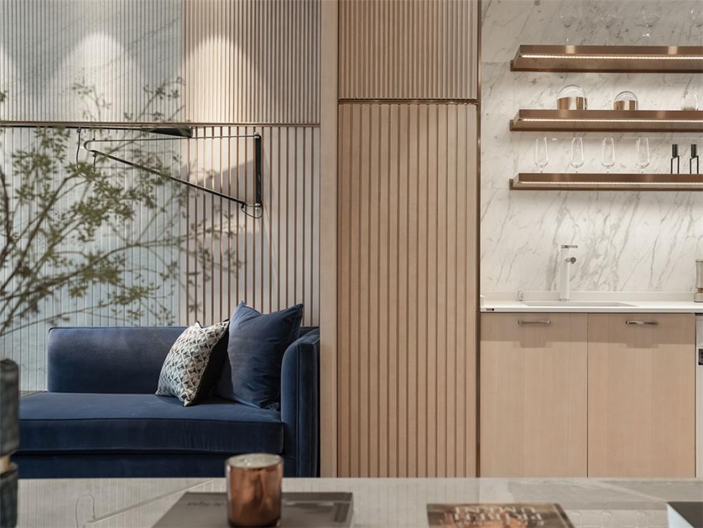 装修设计 装修完成 现代风格 客厅图片来自幸福空间在99平,质材层递  都会美感生活的分享