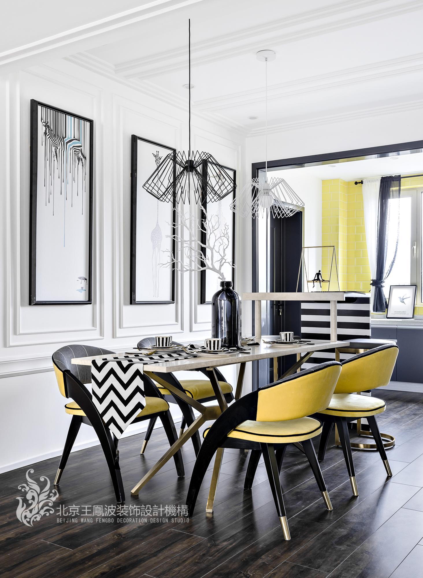 餐厅图片来自王凤波设计机构在斑马纹里的贵族世界,王凤波装饰的分享