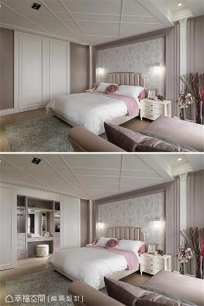 装修设计 装修完成 新古典 卧室图片来自幸福空间在99平,内敛优雅 时尚新古典的分享