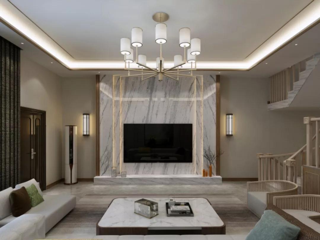中式 客厅图片来自晋级装饰潘露在晋级装饰--香缇别墅380平米的分享