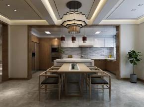 中式 厨房图片来自晋级装饰潘露在晋级装饰--香缇别墅380平米的分享