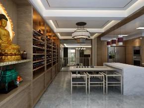 中式 餐厅图片来自晋级装饰潘露在晋级装饰--香缇别墅380平米的分享