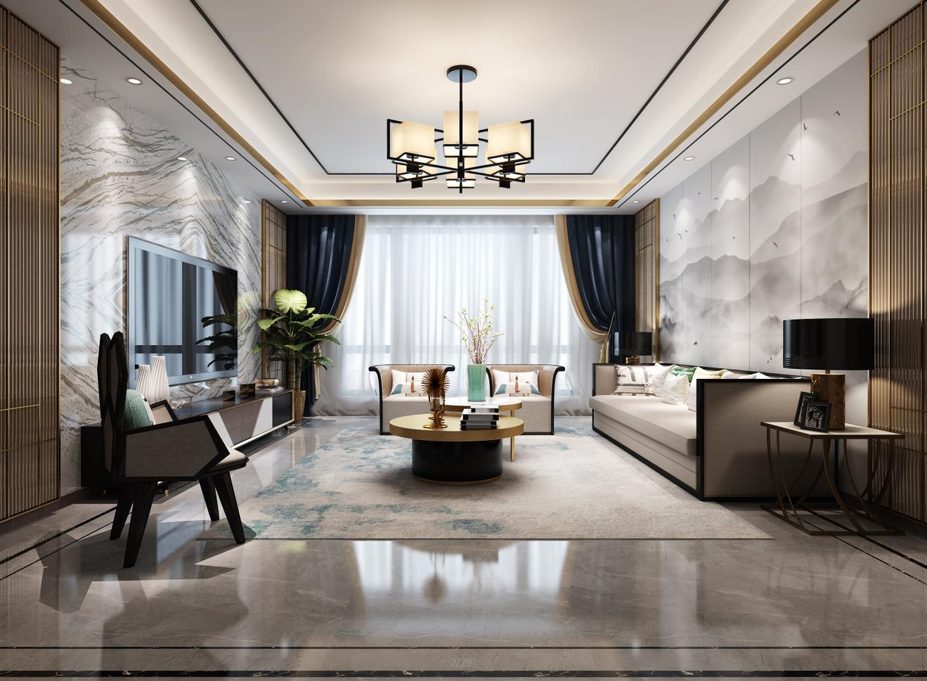 申远 北京申远 别墅装修 昆仑域 客厅图片来自申远空间设计北京分公司在北京申远空间设计-昆仑域的分享