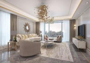 轻奢 阳台图片来自晋级装饰潘露在晋级装饰——中海龙湾450平米的分享